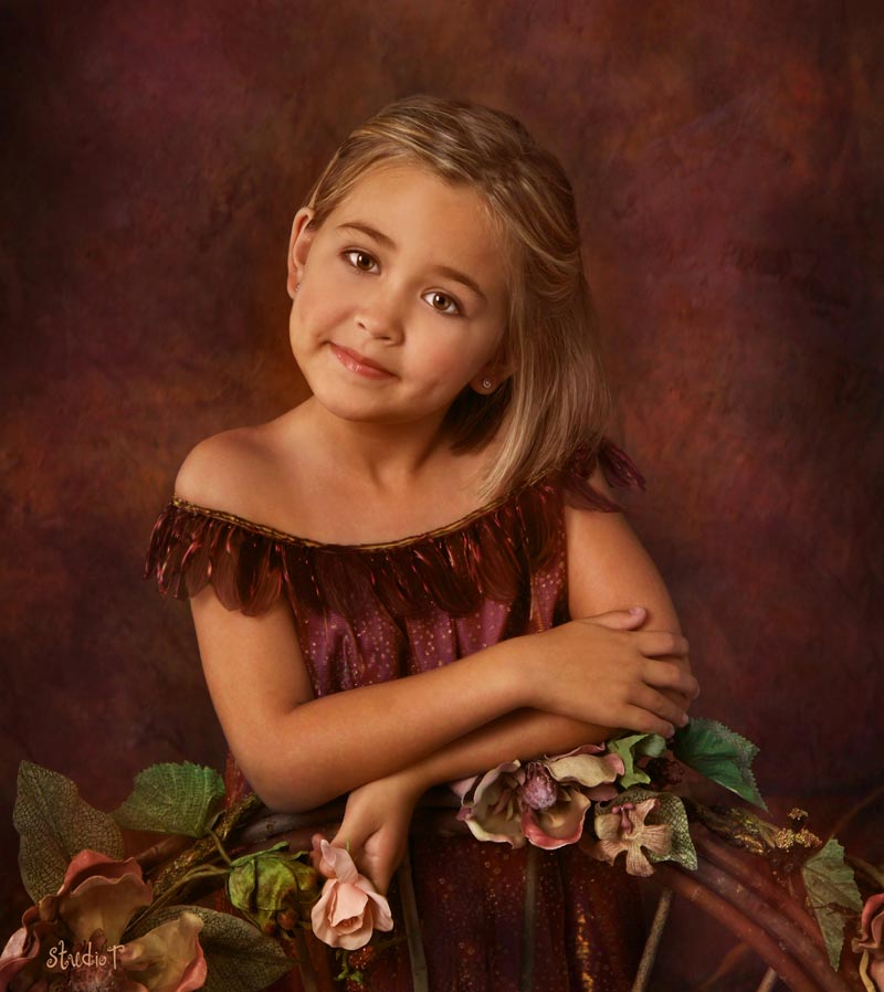 Capture your child's beauty & personality with meaningful portraits