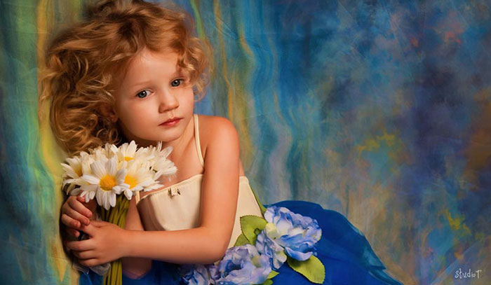 Classically Beautiful Child Portraits | Studio T Photography - Winter Park FL
